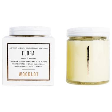 Woodlot Flora Coconut Wax Candle