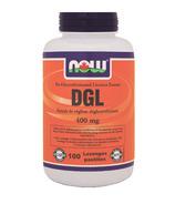 NOW Foods DGL (De-Glycyrrhizinated Licorice Extract)