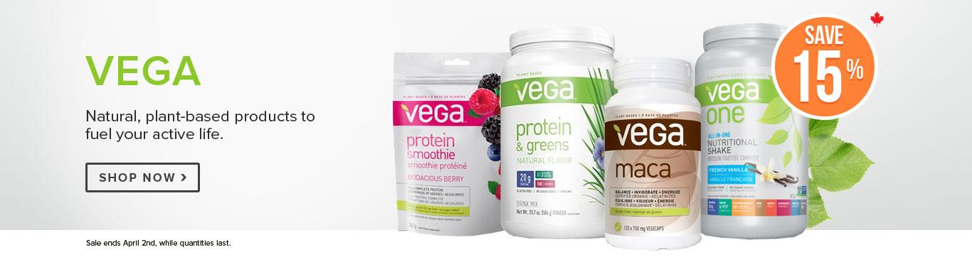 Save 15% on Vega