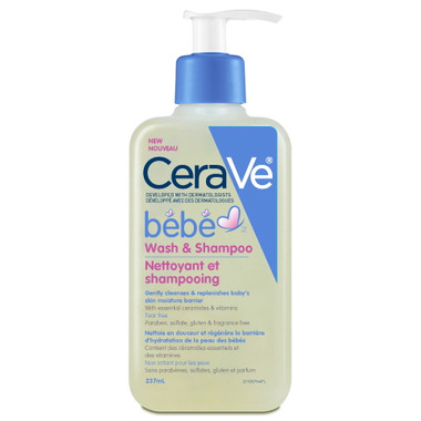 CeraVe Bebe Wash & Shampoo