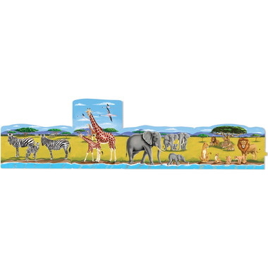 Melissa & Doug Safari Linking Floor Puzzle