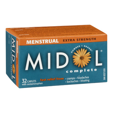 Midol Extra Strength Menstrual Complete