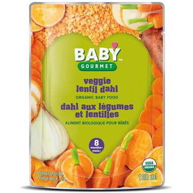Baby Gourmet Vegetable Lentil Dahl Baby Food