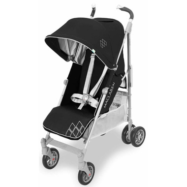 Maclaren Techno XT Black and Silver