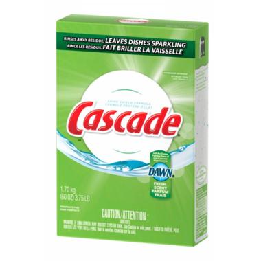 Cascade Powder Dishwasher Detergent Fresh Scent