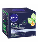Nivea Pure & Natural Moisturizing Night Care
