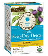 Traditional Medicinals Organic Lemon Everyday Detox Tea