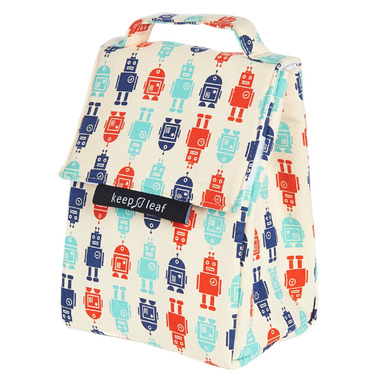 Keep Leaf Lunch Bag Robot