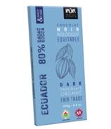 Kaoka Chocolate Bar Dark Chocolate 80%