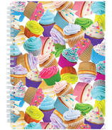 Iscream Cupcakes 3D Small Journal