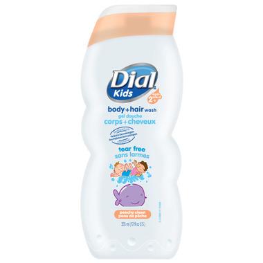 Dial Kids Peachy Clean Body + Hair Wash