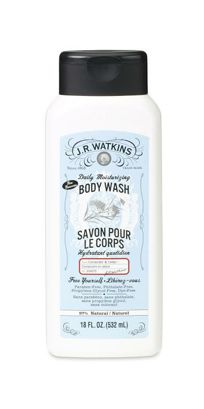 Buy J R Watkins Body Wash Coriander Cedar At Well Ca