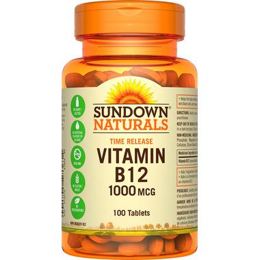 Sundown Naturals Time Release Vitamin B12