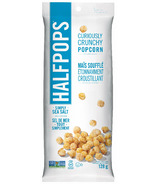 Halfpops Curiously Crunchy Popcorn Simply Sea Salt