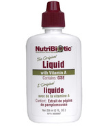 Nutribiotic Grapefruit Seed Extract Liquid Concentrate with Vitamin A