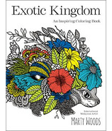 Exotic Kingdom Colouring Book