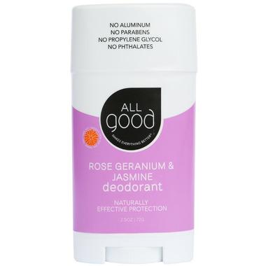 All Good Rose Geranium & Jasmine Deodorant