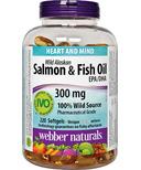 Webber Naturals Wild Alaskan Salmon & Fish Oil EPA/DHA