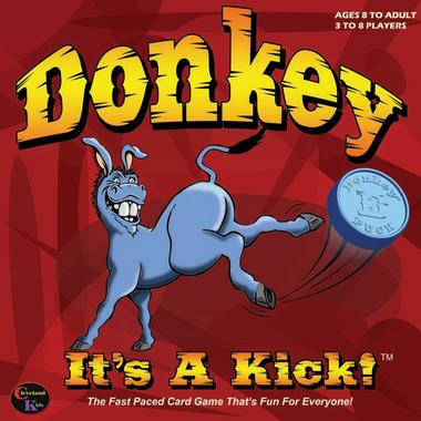 Donkey It\'s A Kick! Card Game