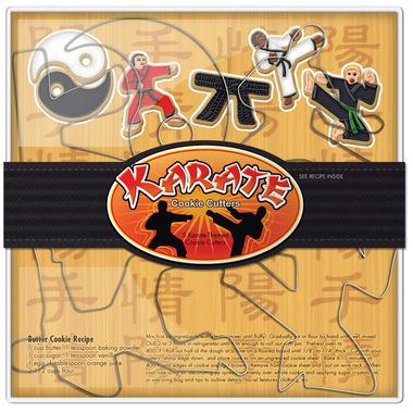 Karate Cookie Cutter Set