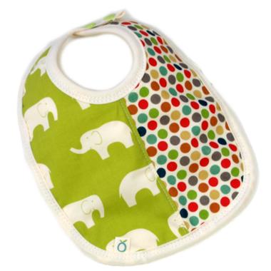 Oko Creations Absorbent Bib Elephant