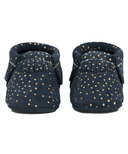 Freshly Picked Moccasins Navy Confetti