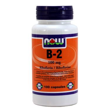 NOW Foods Vitamin B-2 Riboflavin