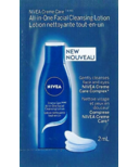 Nivea Creme Care All-in-One Facial Cleansing Lotion Sample