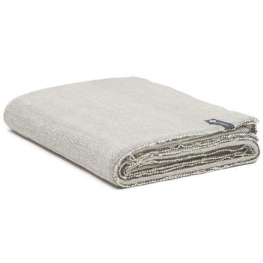 Halfmoon Cotton Yoga Blanket Stone Weave