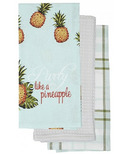 Harman Party like a Pineapple Kitchen Tea Towels