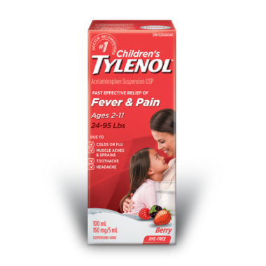 Children\'s Tylenol Fever & Pain Suspension Liquid