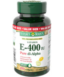 Nature's Bounty 100% Preservative Free Vitamin E