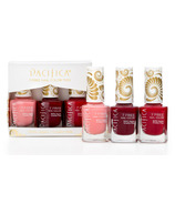 Pacifica 7 Free Nail Polish Set - Red