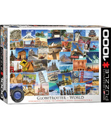 Eurographics Globetrotter World Puzzle