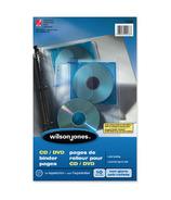 Acco CD/DVD Binder Pocket Pages