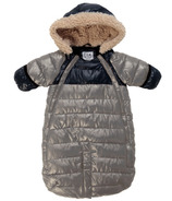 7 A.M Enfant Doudoune Grey & Black