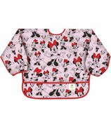 Bumkins Disney Sleeved Bib Minnie Mouse Classic