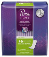 Poise Liners Very Light Absorbency