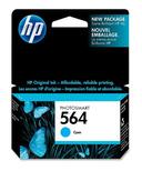 HP 564 PhotoSmart Cyan Ink Cartridge HEWCB318WC140