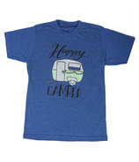 Little Orchard Co. Happy Camper Tee Blue