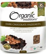 Organic Traditions Dark Chocolate Hazelnuts