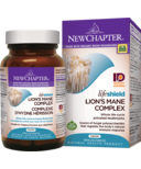 New Chapter LifeShield Lion's Mane Whole Life-Cycle Activated Mushrooms