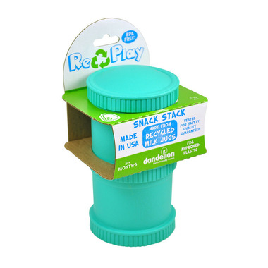 Re-Play Double Snack Stack Aqua