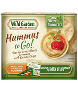 Wild Garden Traditional Hummus and Quinoa Chips