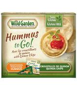 Wild Garden Traditional Hummus and Quinoa Chips