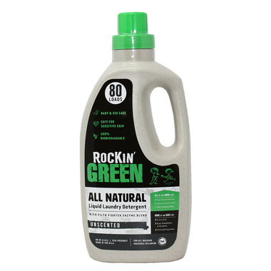 Rockin\' Green Liquid Laundry Detergent