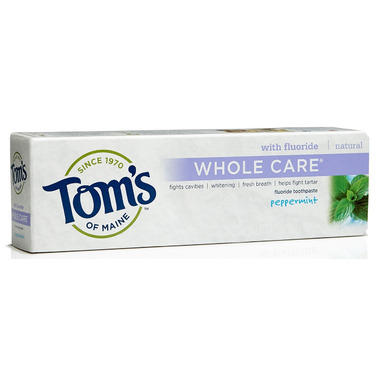 Tom\'s of Maine Whole Care Fluoride Toothpaste