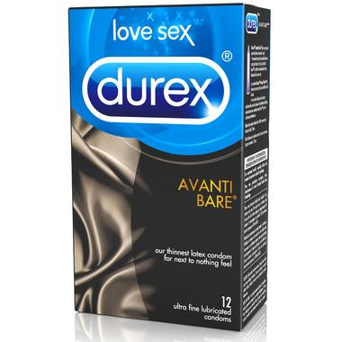 Durex Avanti Bare Latex Condoms