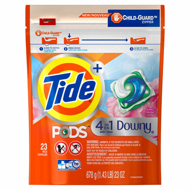 Tide PODS Plus Downy HE Turbo Laundry Detergent Pacs