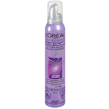 Buy l 39 oreal hair expertise volume collagen styling mousse for Loreal salon hair products